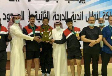 نادي الرائد بطلاً لبطولة أوائل أندية الدرجة الثانية لكرة الطاولة ويصعد مع الشباب إلى دوري الأولى الرياض