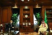 وزير الدولة للشؤون الخارجية يستقبل سفير أذربيجان لدى المملكة