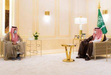 سمو أمير الباحة يستقبل مدير إدارة التدريب التقني والمهني بالمنطقة