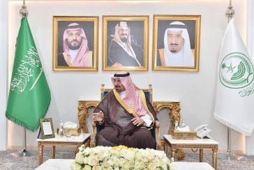 سمو أمير نجران يبحث استحداث وجهات جديدة للخطوط السعودية من وإلى المنطقة