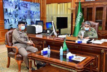 اللواء اليحيى يستقبل رئيس الاتحاد الرياضي السعودي لقوى الأمن الداخلي