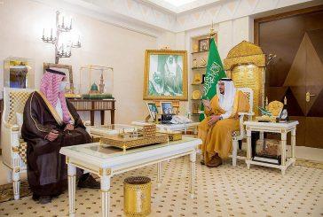 سمو الأمير فيصل بن مشعل يستقبل مدير فرع المالية بالقصيم بمناسبة تكليفه