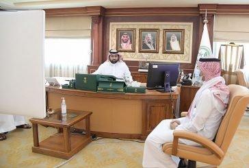 سمو نائب أمير منطقة جازان يستقبل وكيل وزارة الصحة للشؤون الهندسية