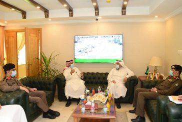 جامعة الإمام عبد الرحمن ومرور الشرقية يبحثان تطوير التعاون بينهما