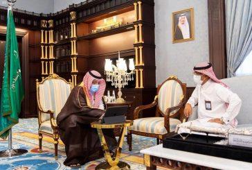 الأمير حسام بن سعود يعتمد ترقية 118موظفًا بالإمارة عبر منصة