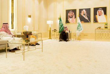 أمير الباحة يستقبل رئيس المحكمة العامة المعين حديثًا بالمنطقة
