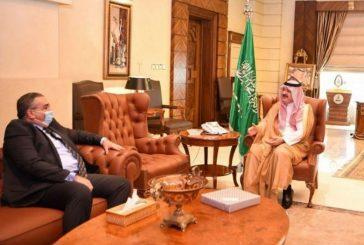 الأمير مشعل بن ماجد يستقبل قنصل عام جمهورية مصر العربية بجدة
