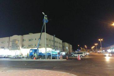 بلدية الجبيل تعالج مظاهر التلوث البصري