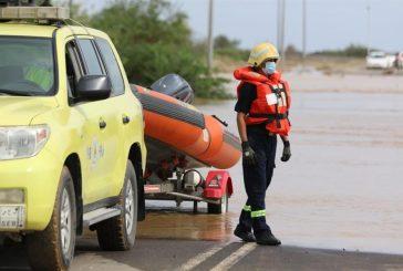 الدفاع المدني: إنقاذ 700 شخص وإخلاء 11 أسرة في 5 مناطق بالمملكة
