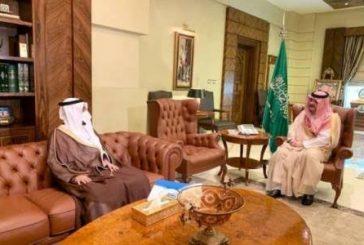 الأمير مشعل بن ماجد يطلع على استعدادات تعليم جدة لانطلاقة العام الدراسي الجديد عن بعد