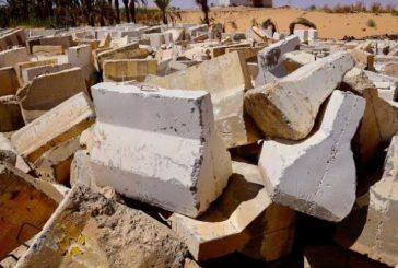 أمانة الجوف تزيل 10 آلاف كتلة خرسانية لتحسين المشهد الحضري