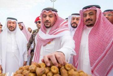 سمو أمير منطقة القصيم يزور مهرجان بريدة للتمور غداً