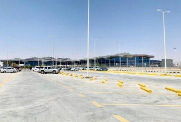 مطار الملك خالد يعلن تغيير موقع المفترق بعد كوبري الطيران الخاص
