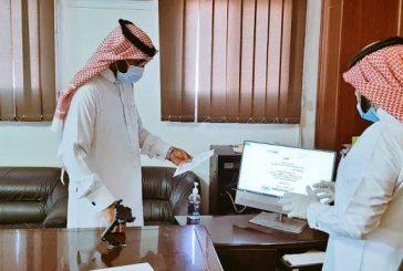 مدير تعليم ينبع يتابع سير العملية التعليمية في الفصول الافتراضية