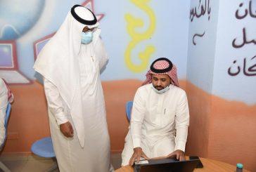مدير تعليم مكة يتفقد ٤ مدارس ويشيد بتفعيل المعلمين للمنصات التعليمية عن بعد