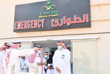 مدير صحة جدة يتفقد خدمات ومشاريع مستشفى الثغر العام