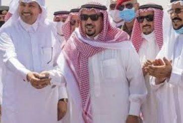 أمير القصيم يفتتح مشروعي طريق الملك عبدالله وطريق الأمير نايف ببريدة