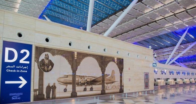 مطار الملك عبدالعزيز يجهز صالات استقبال المعتمرين