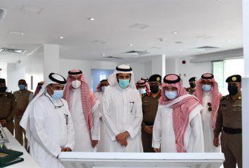 محافظ جدة ووزير الصحة يدشنان مشاريع صحية وتطويرية