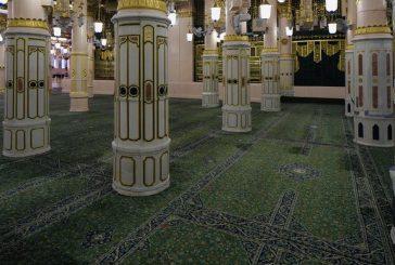 وكالة شؤون المسجد النبوي تحدد أوقات الدخول للزيارة والصلاة في الروضة الشريفة