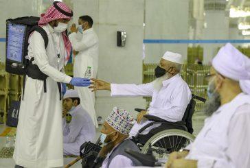 مصلى ومداخل للأشخاص ذوي الإعاقة بـالمسجد الحرام تزامناً مع عودة المصلين