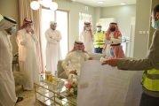 وزير الإسكان يتفقّد مشاريع