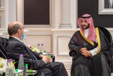 الأمير خالد بن سلمان يستقبل مبعوث الولايات المتحدة الخاص لإيران