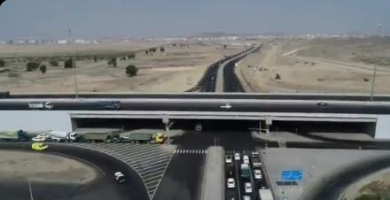 """""""النقل"""" توضح تفاصيل جديدة بشأن الطرق المدشنة في مكة المكرمة"""