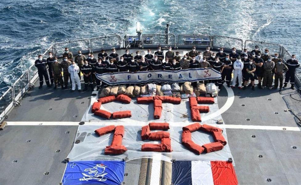 """""""القوات البحرية"""" تضبط كميات ضخمة من المخدرات قُدّرت قيمتها بـ 143 مليون دولار"""