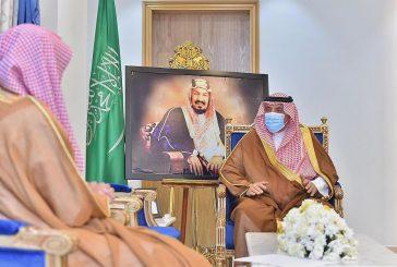 أمير نجران يلتقي رئيس محكمة التنفيذ بالمنطقة