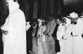 تسجيل صوتي نادر للملك سعود وهو يؤم المصلين ويتلو آيات من سورة