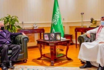 رئيس هيئة حقوق الإنسان يبحث مع السفير الأمريكي أوجه التعاون المشترك بين البلدين