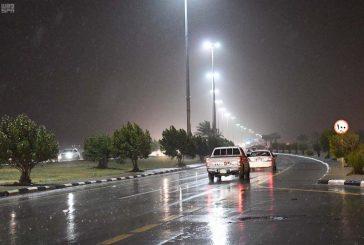 الدفاع المدني: استمرار هطول أمطار غزيرة قد تؤدي لسيول في هذه المناطق من الجمعة إلى الأحد