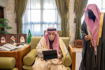 أمير الرياض يدشن حملة