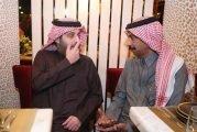 عبادي الجوهر ينشر فيديو للحظة وصول تركي آل الشيخ لافتتاح