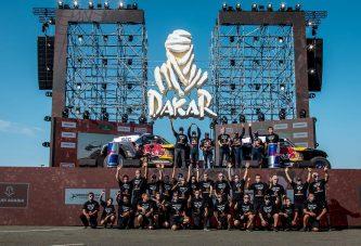 تعرّف على الفائزين في ختام رالي داكار السعودية 2021