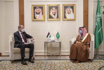 وزير الخارجية يستقبل نائب رئيس الوزراء وزير الخارجية وشؤون المغتربين في الأردن