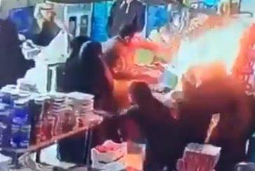 سرعة بديهة مواطن تنقذ نساء ورجالاً من الاشتعال داخل متجر في عرعر