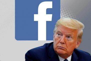 فيسبوك يحظر حساب ترامب لأجل غير مسمى
