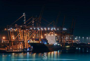 إيقاف حركة الملاحة البحرية بميناء جدة الإسلامي بسبب التقلبات الجوية
