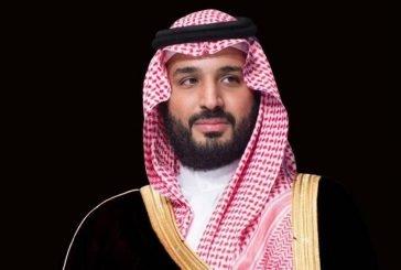 ولي العهد يتلقى اتصالاً من أمير قطر