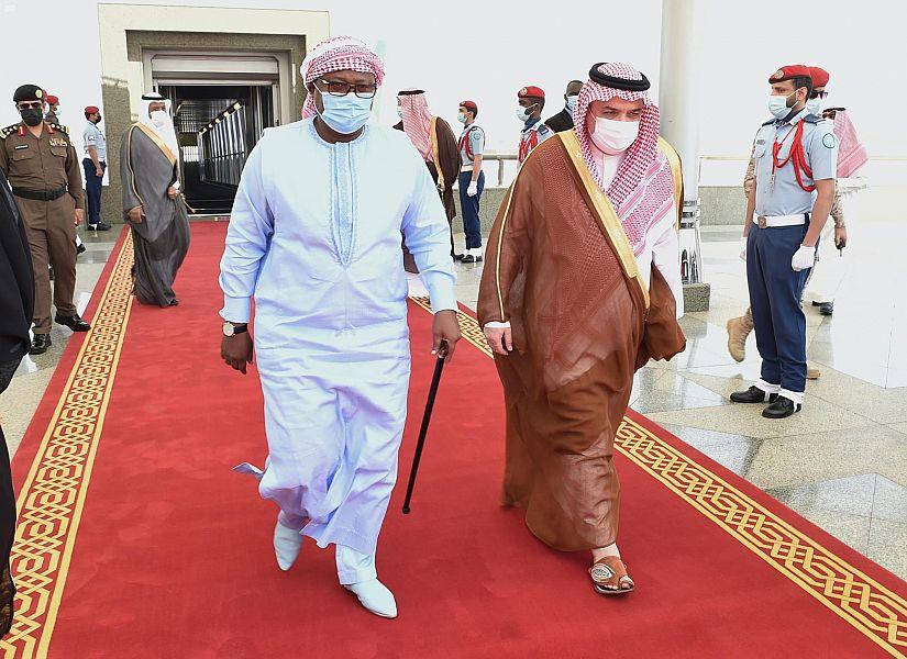 رئيس جمهورية غينيا بيساو يصل إلى جدة