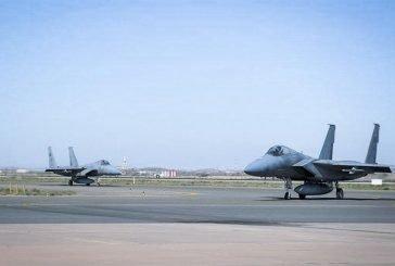 ختام مناورات التمرين المشترك بين القوات الجوية الملكية والأمريكية