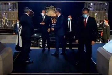 الرئيس المصري يصل المتحف القومي للحضارة لاستقبال المومياوات الملكية