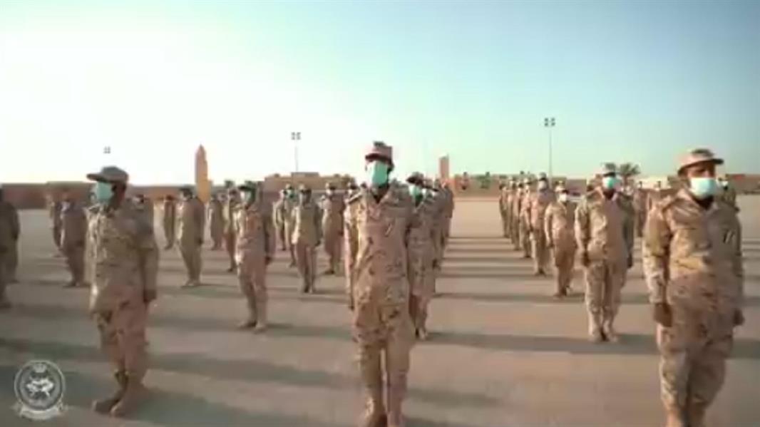 """""""الحرس الوطني"""" يحتفل بتخريج 1058 خريجًا من دورات الفرد الأساسي للمستجدين"""
