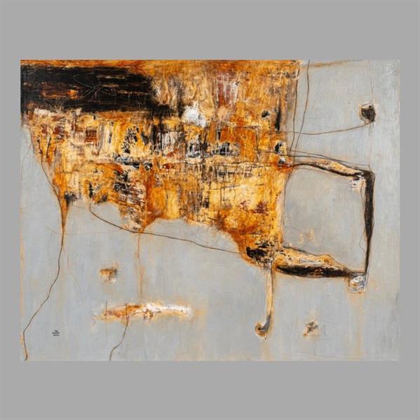 """الفنانة """"وداد الأحمدي"""" تكشف عن كيف وصلت لوحتها الفنية إلى مكتب ولي العهد"""