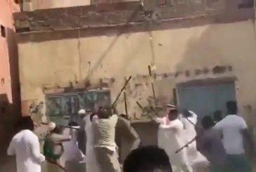 القبض على أطراف مشاجرة رقصة المزمار في جدة وإحالتهم للنيابة العامة