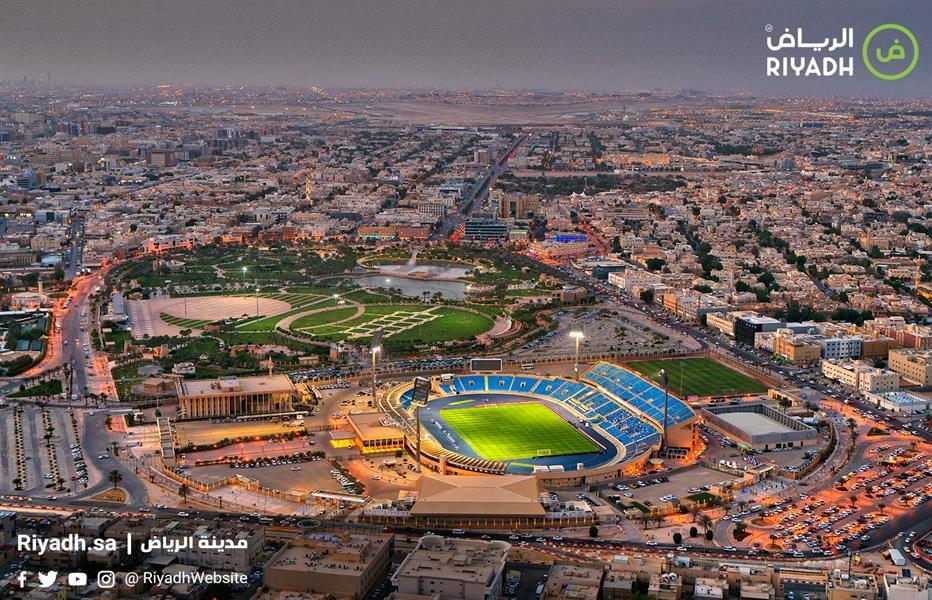 صور تظهر تطور ملعب الأمير فيصل بن فهد وحي الملز بالرياض