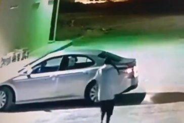 القبض على الشاب الذي سرق سيارة بداخلها امرأة في حي طويق بالرياض
