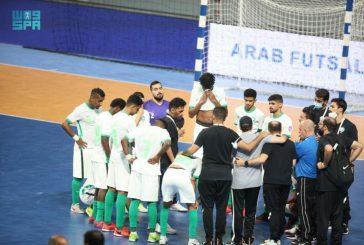 مدرب أخضر كرة قدم الصالات يعد الجمهور السعودي بتعويض الخسارة أمام الإمارات في البطولة العربية